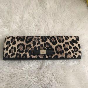 Kate Spade Leopard Clutch